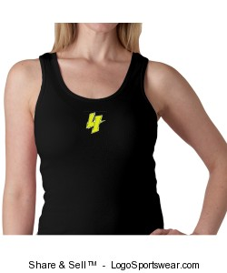 Ladies Ribbed Tank Design Zoom